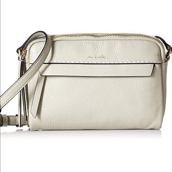 Vera Bradley Mallory leather crossbody white